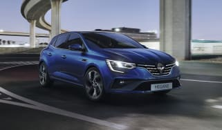 2020 Renault Megane RS Line - front 3/4 view