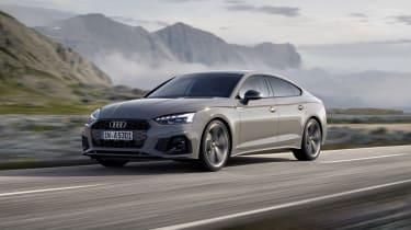 Audi A5 Sportback driving