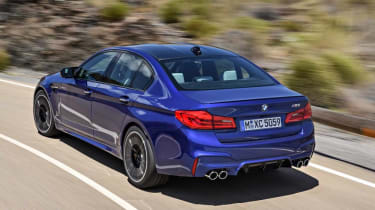 BMW's next-gen M5 will be four-wheel drive, but it'll have a 100% rear-wheel drive mode