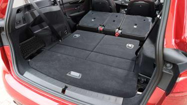 BMW 2 Series Gran Tourer boot - seats down
