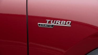Mercedes-AMG GLA 35 turbo badge