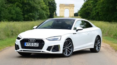 Audi A5 Coupe front 3/4 static