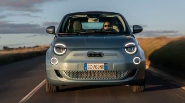 Fiat 500 hatchback front tracking