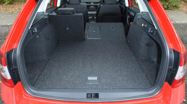 2017 Skoda Octavia Estate - boot space