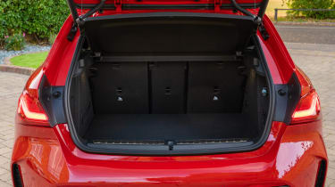 BMW M135i xDrive - boot space with seats up
