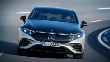 2021 Mercedes EQS front tracking