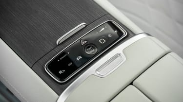 Mercedes EQS hatchback centre console