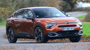 Citroen C4 hatchback review gallery