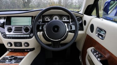 Interior materials are of the finest quality, with only the best leather and wooden veneers selected