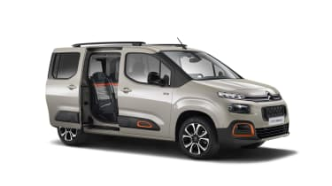 Citroen Berlingo in Flair XTR trim with door open