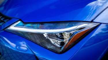 Lexus UX 300e SUV headlights