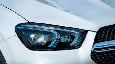 Mercedes GLE SUV Coupe headlights