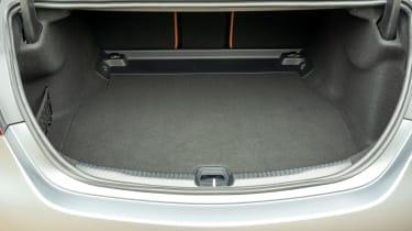 Mercedes C-Class saloon boot