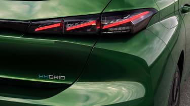 2021 Peugeot 308 - rear lights