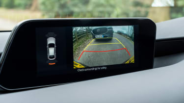 Mazda3 hatchback rear-view camera