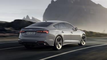 Audi A5 Sportback driving rear