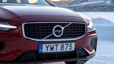 Volvo V60 T8 Twin Engine hybrid grille