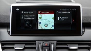 BMW 2 Series Gran Tourer infotainment screen