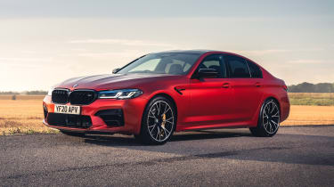 2021 BMW M5 Competition saloon - front 3/4 static