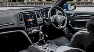 Renault Megane hatchback dashboard