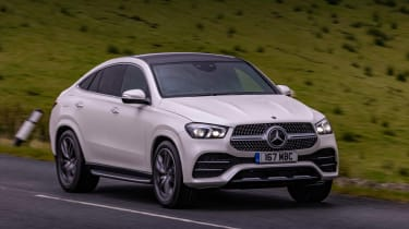 Mercedes GLE SUV Coupe front cornering