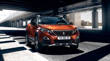 The 3008 is a rival to the Renault Kadjar, Ford Kuga and Nissan Qashqai