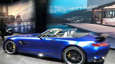 Mercedes-AMG GT R Roadster Geneva Motor Show side profile