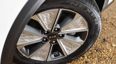 Kia Soul EV hatchback alloy wheels