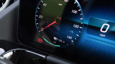 Mercedes EQA SUV review gauges