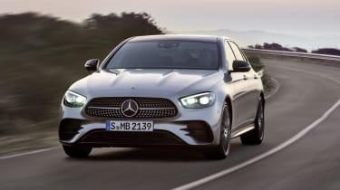 Mercedes E-Class - front dynamic close
