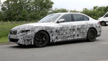 Electric BMW 3 Series prototype