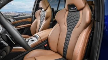 BMW X5 M Competition seats