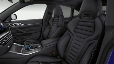 2021 BMW i4 M50 - seats