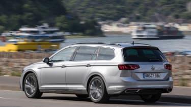 Volkswagen Passat Estate rear 3/4 action