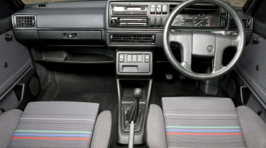 VW Golf GTI Mk2 interior