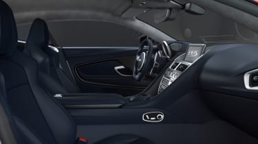 Aston Martin DBS Superleggera Concorde Edition interior