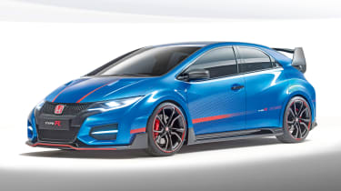Honda Civic Type-R concept front