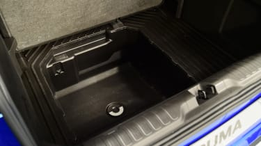 2020 Ford Puma - under boot floor