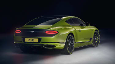Bentley Continental GT Limited Edition - rear