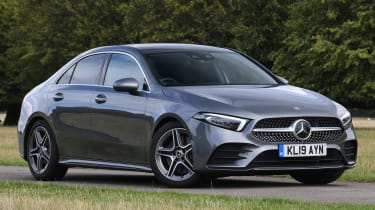 Mercedes A-Class saloon front 3/4 static
