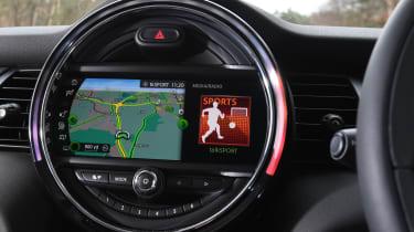 MINI 5-door hatchback display