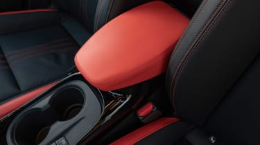 Nissan Juke SUV armrest