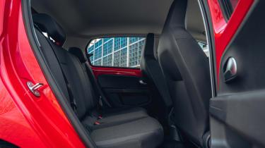 Volkswagen up! hatchback rear seats