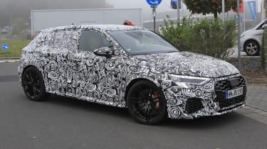 2021 Audi RS3 prototype