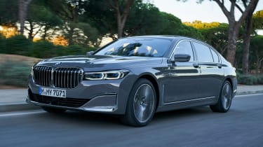 BMW 7 Series saloon front tracking