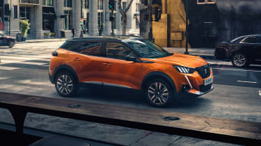 New Peugeot 2008 - high side view