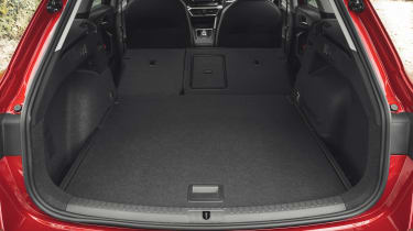SEAT Leon Estate boot seats folded