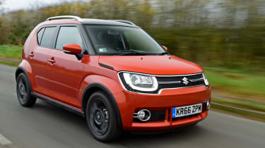 Compared with rivals like the Skoda Citigo and Toyota Aygo, it offers drivers a taller seating position and rugged looks