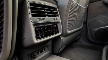 Audi Q7 SUV rear air vents