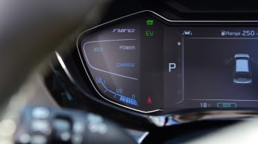 Kia Niro SUV digital instruments